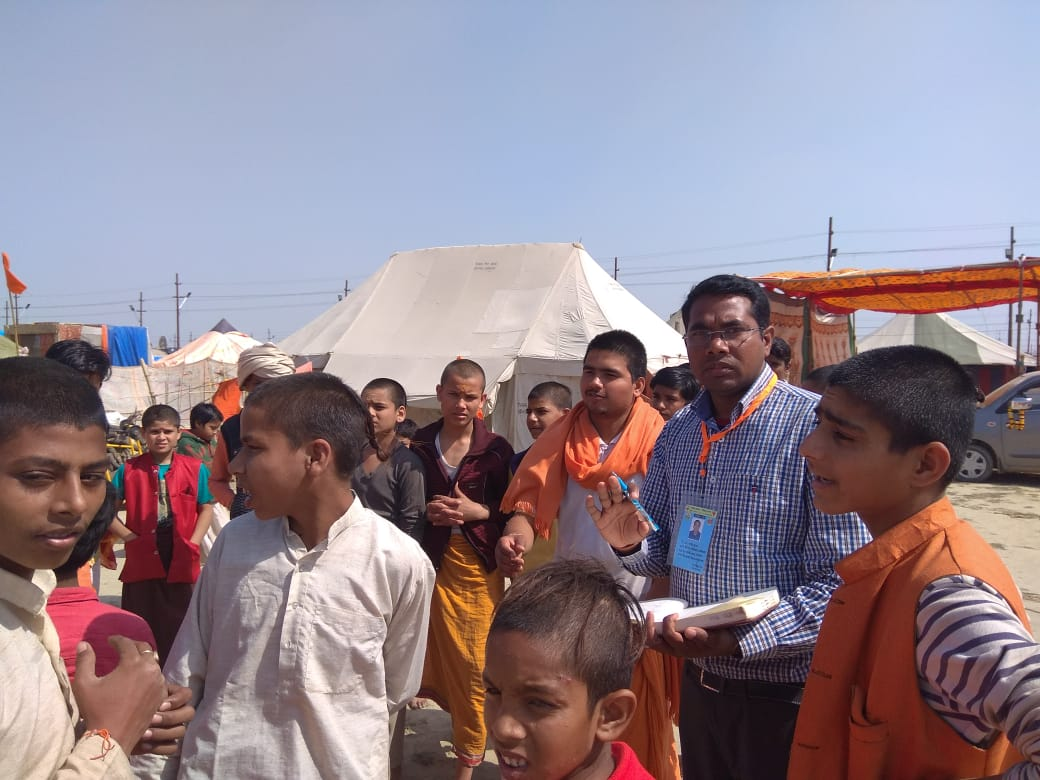 EIS officers investigate a Chickenpox outbreak during Kumbh 2019 in Prayagraj