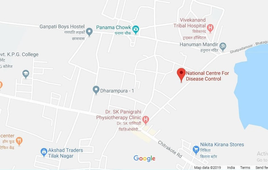 Google map of Jagdalpur Branch