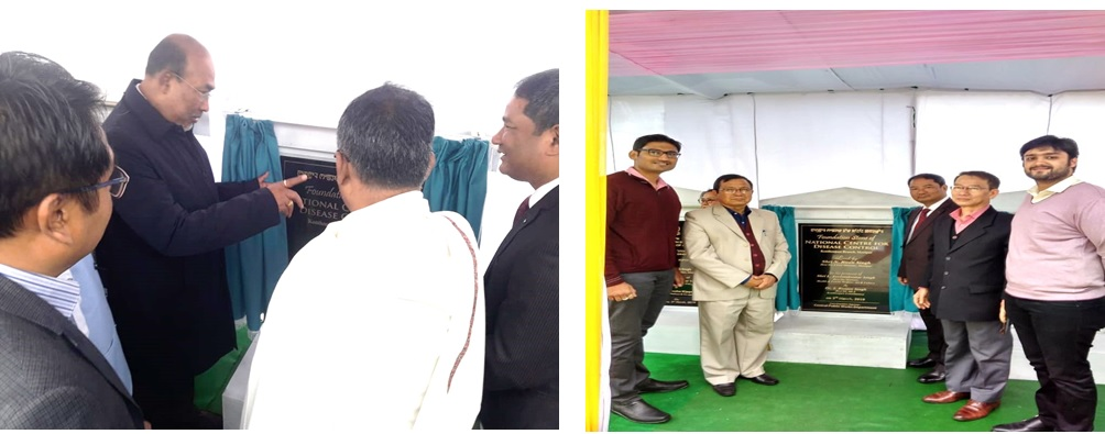 Foundation Stone of NCDC branch at Imphal, Manipur