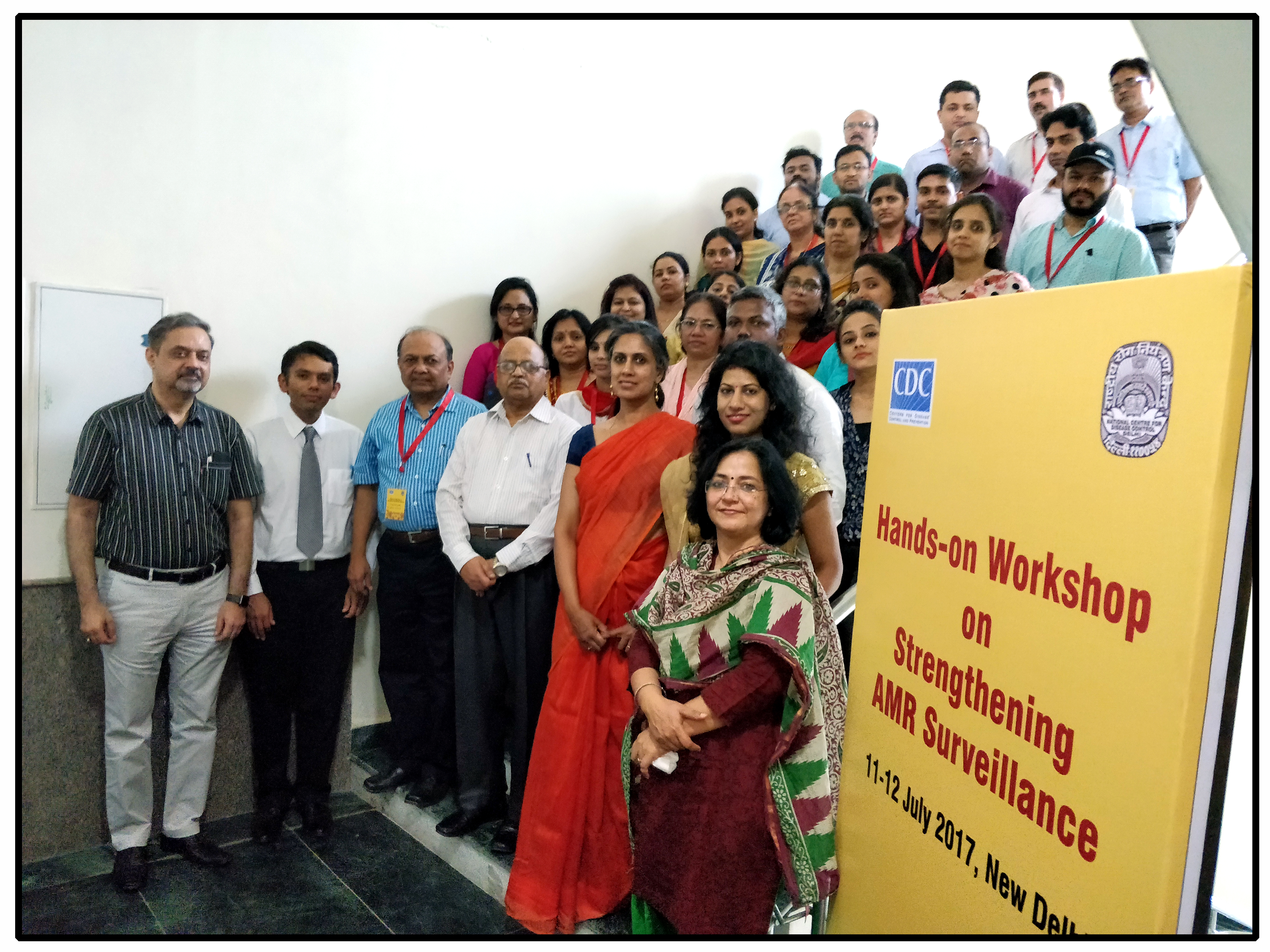 Workshop on strengthening AMR Surveillance