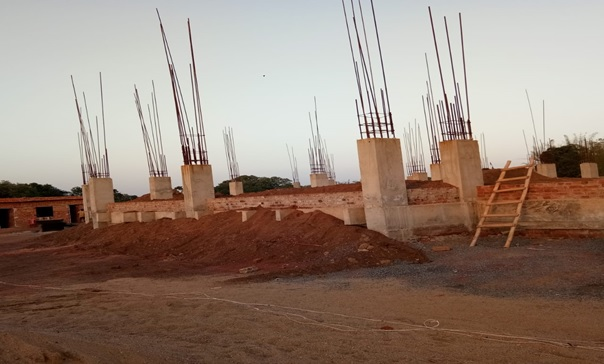 Construction site of NCDC branch at Ranchi, Jharkhand